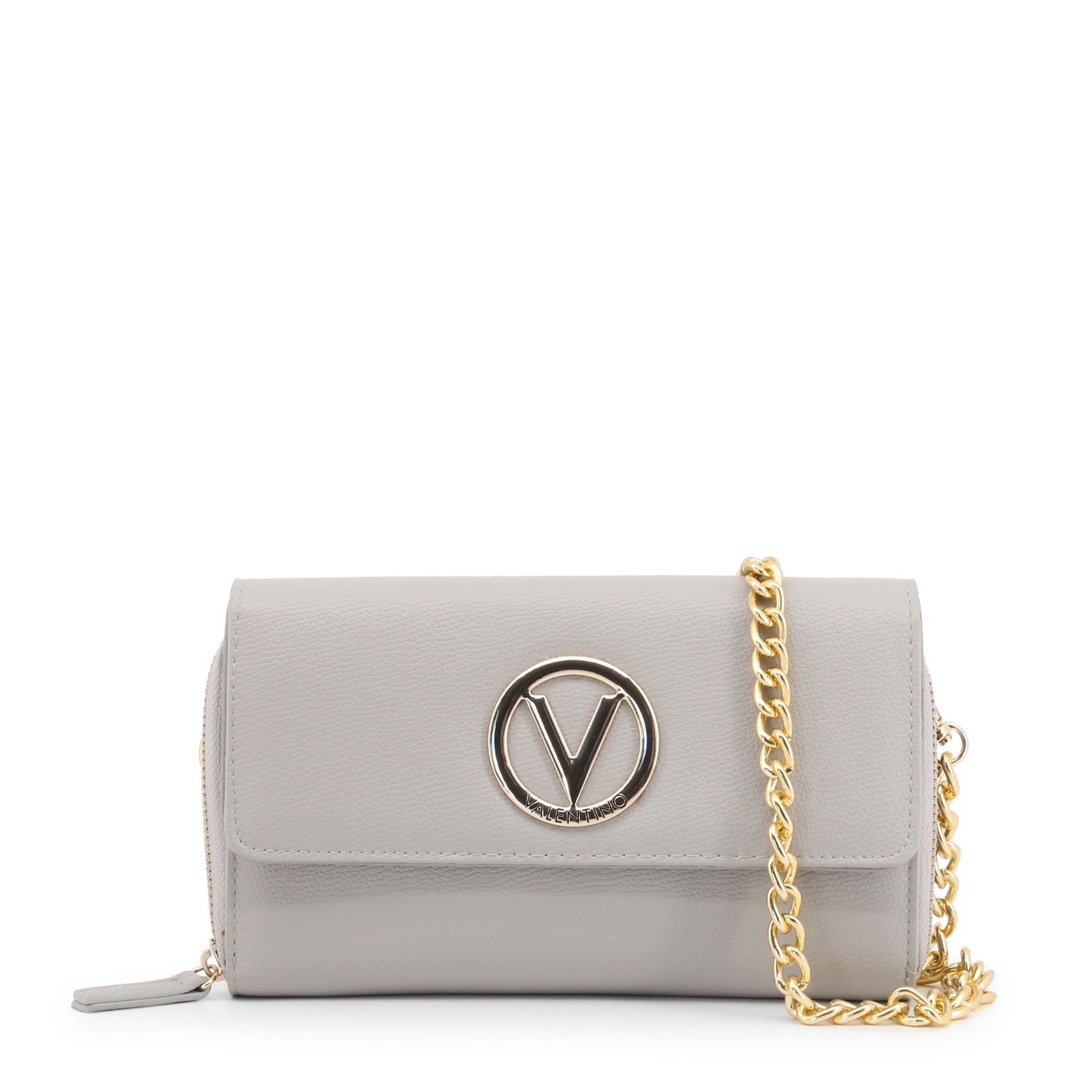 Valentino by Mario Valentino Women's Clutch Bag Various Colours SAX-VBS3JJ06 - grey NOSIZE