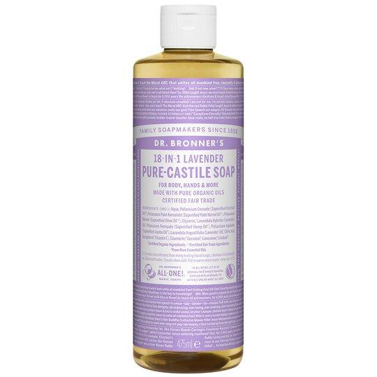Magic Soaps Lavender, 475 ml Dr. Bronner's Suihku- ja kylpytuotteet