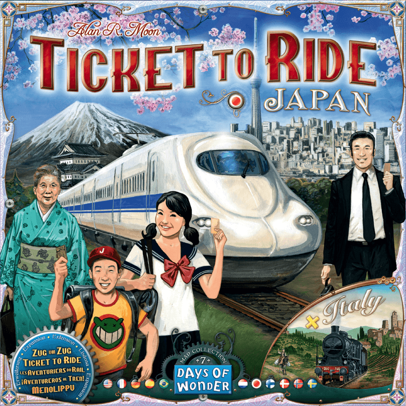 Ticket to Ride - Japan/Italy (#7) (DOW720132)