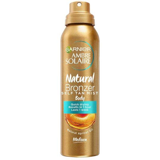 Ambre Solaire Natural Bronzer Self tan Mist, 150 ml Garnier Rusketus