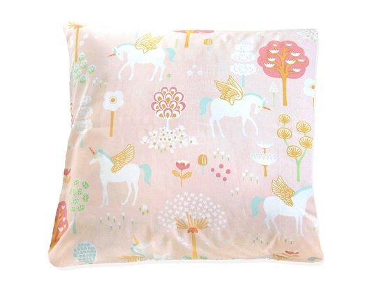 Majvillan Putetrekk 50x50 True Unicorns, Pink