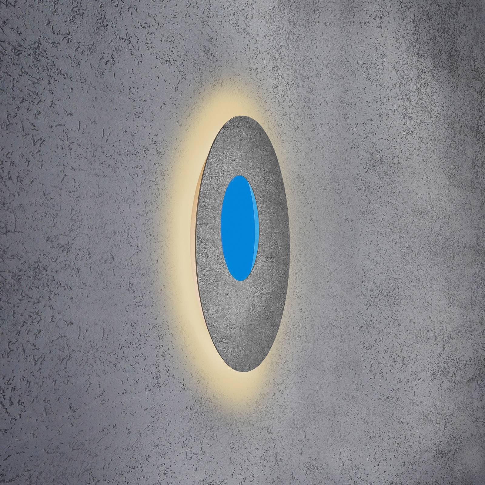 Escale Blade Open LED-vegglampe RGB+W betong Ø59cm