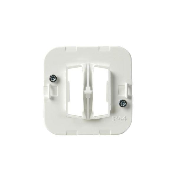 ABB ABB2475 Festeplate IP44, 2 knapper