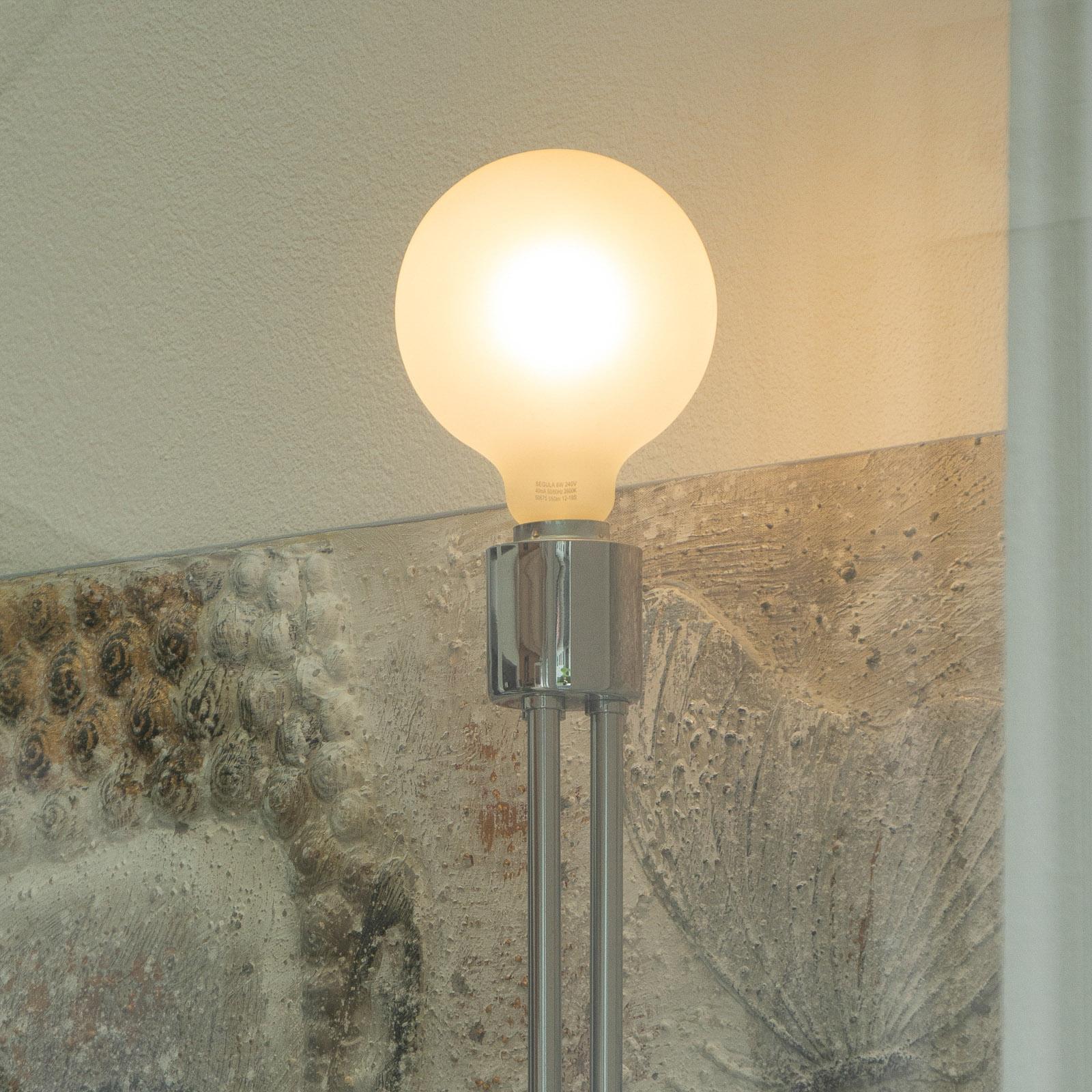 SEGULA LED-lamppu E27 8W G125 2 600 K himmennys