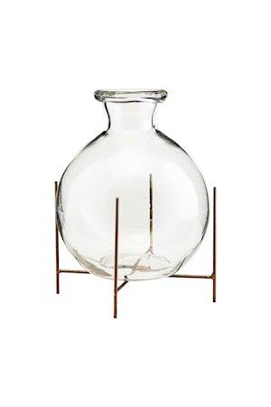Vase m. Stativ Lana Ø15x17 cm