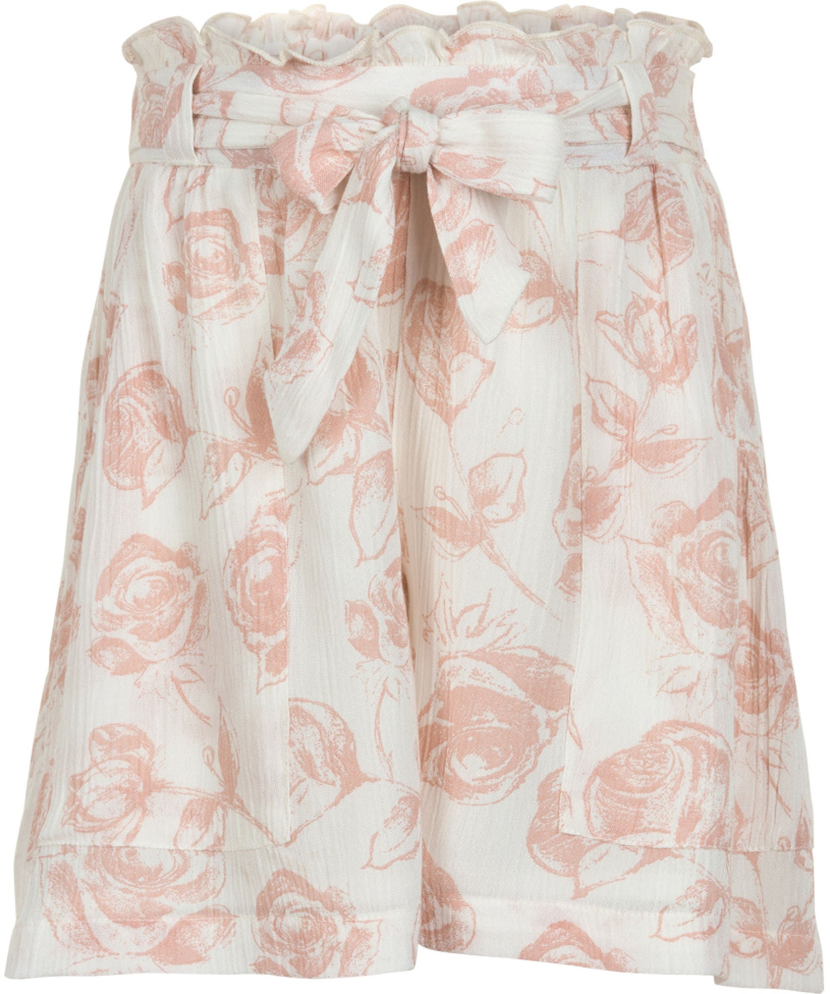Creamie Roses Shorts, Cloud 116