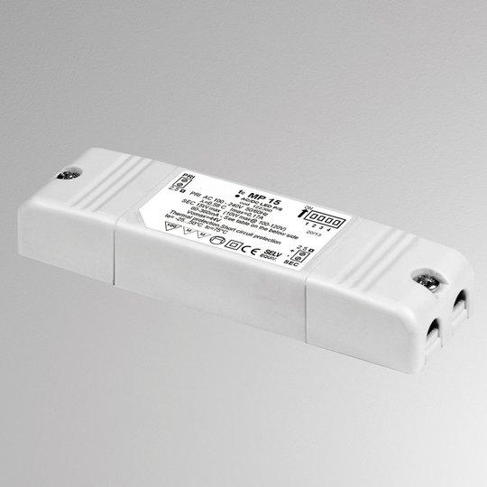 LED-muuntaja MP15, säädettävä, ei himmennettävä