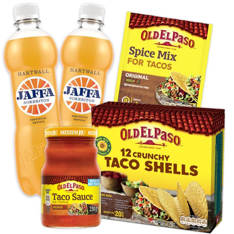 Taco-paketti - 33% alennus