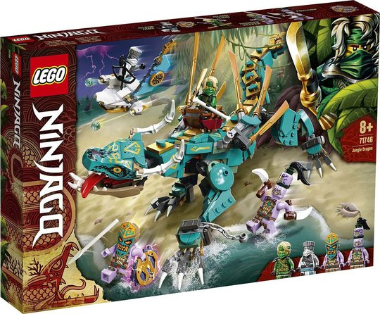LEGO Ninjago 71746 Jungeldrage