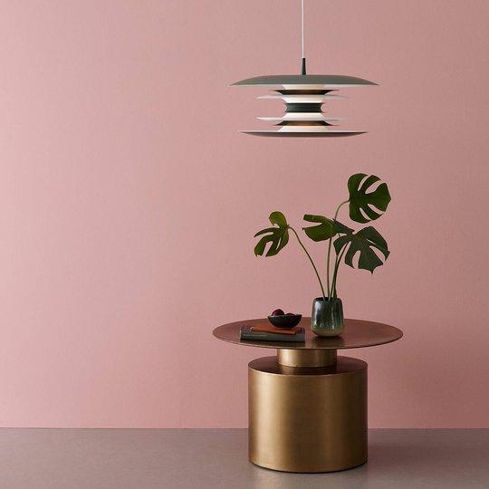 Diablo LED-pendellampe Ø 40 cm avokadogrønn