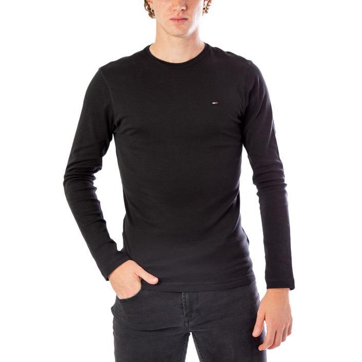 Tommy Hilfiger Men's T-Shirt Black 169533 - black XS