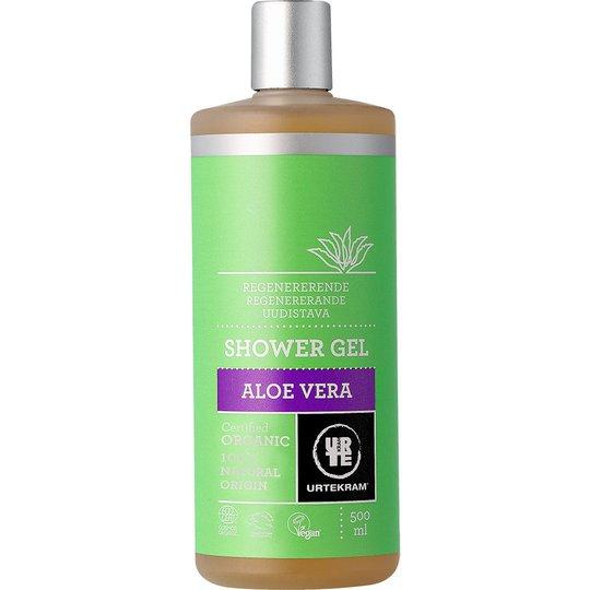Aloe Vera, 500 ml Urtekram Suihkugeelit