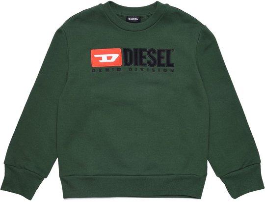 Diesel Screwdivision Sweatshirt, Dark Green 10 År