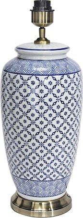 Li Jing Lampefot Blå 49cm