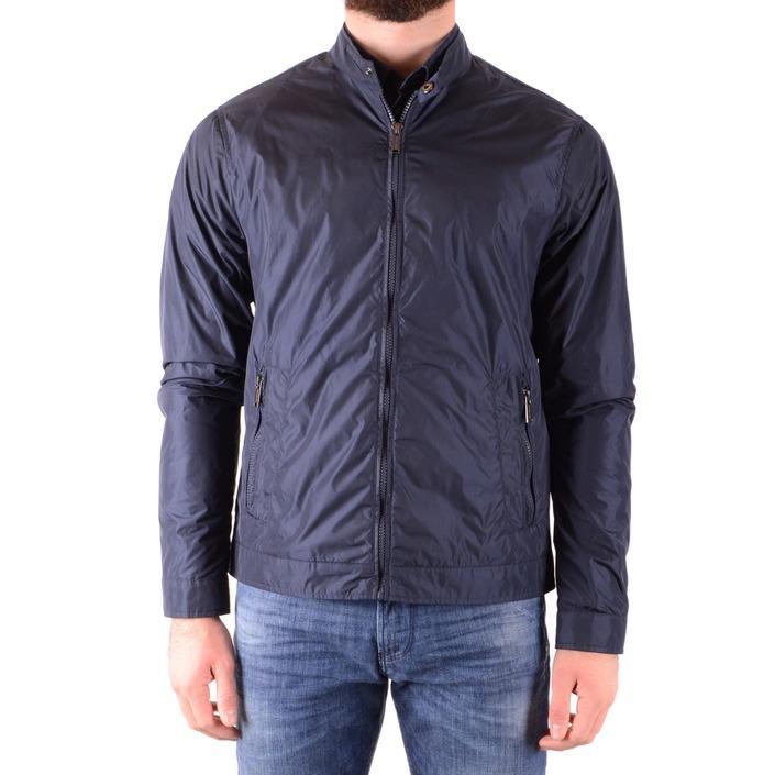 Michael Kors Women's Jacket Blue 165376 - blue S