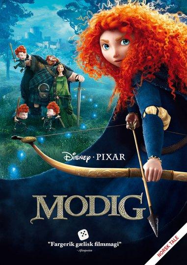 Disney Pixar Modig DVD