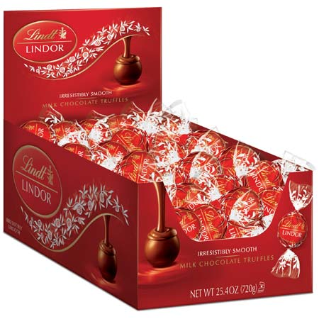 Lindor Milk Chocolate Truffles 60st