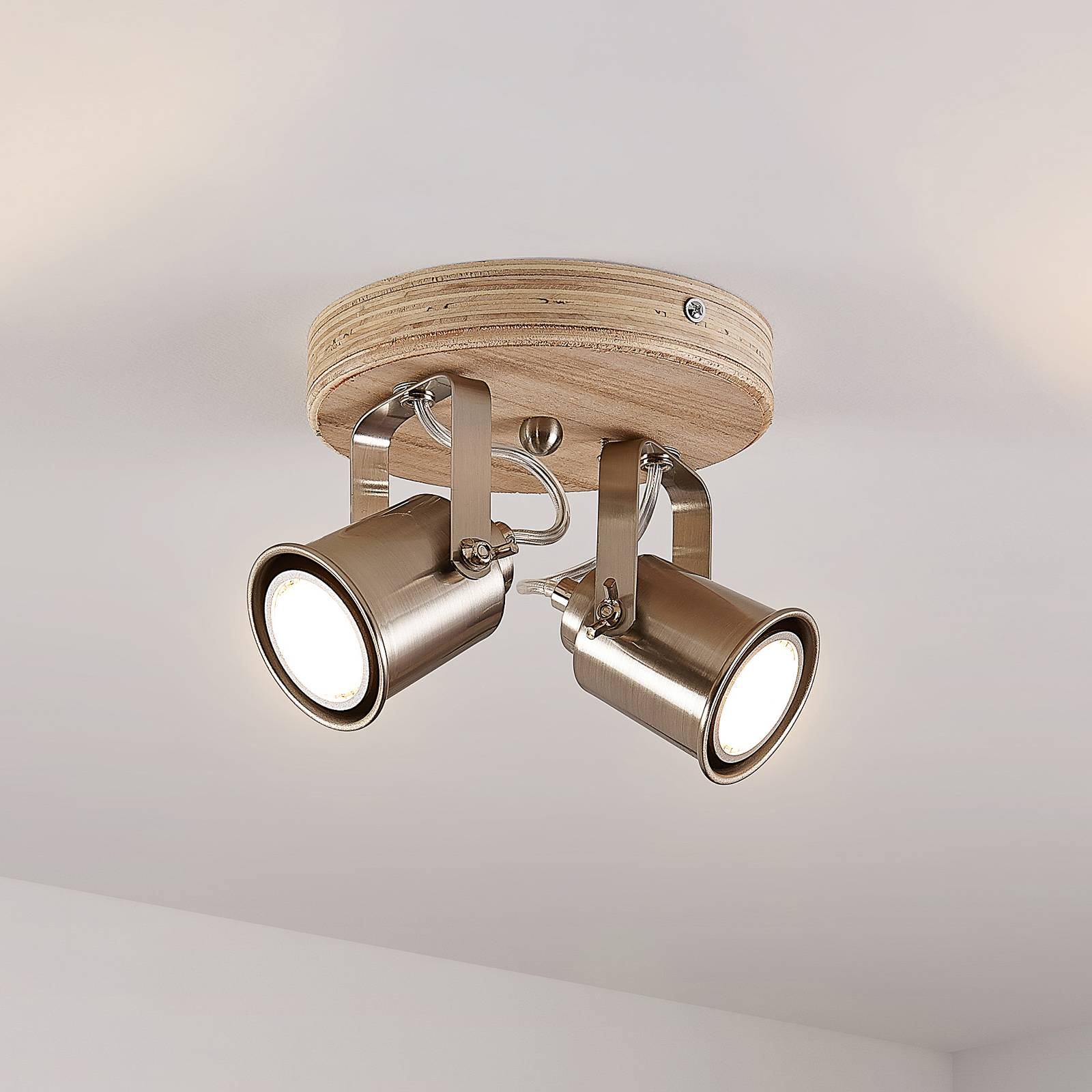 Lindby Mikadi -kattokohdevalo 2-lamppuinen