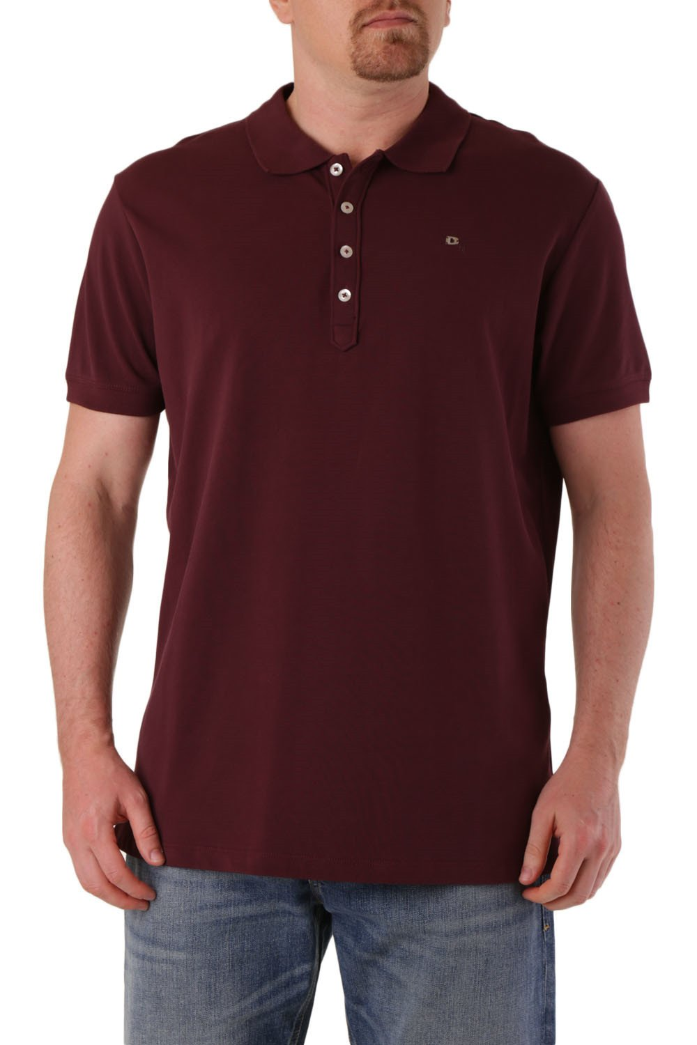 Diesel Men's Polo Shirt Various Colours 283810 - red-2 S