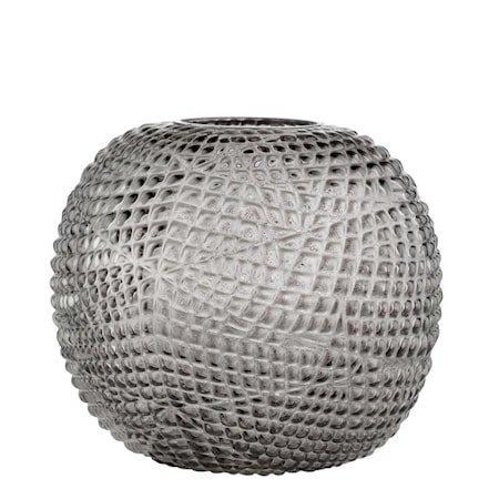 Vase Misa 19cm Grå