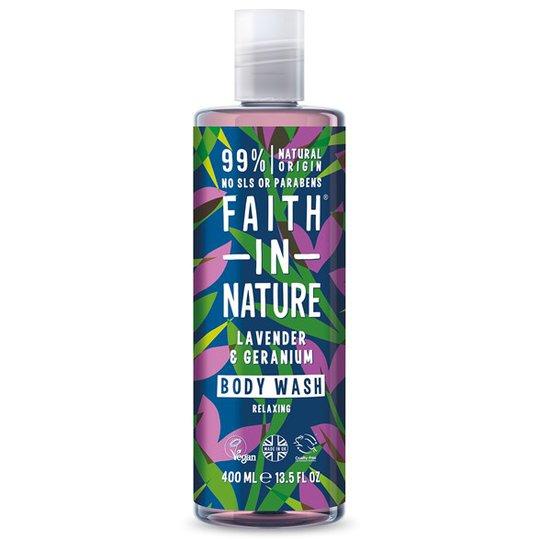 Faith in Nature Lavender Shower Gel & Foam Bath, 400 ml