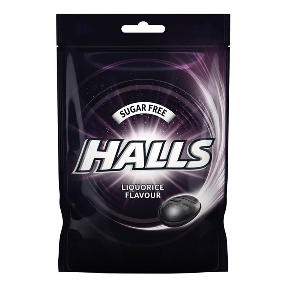 Halls Cool Liquorice Halstabletter