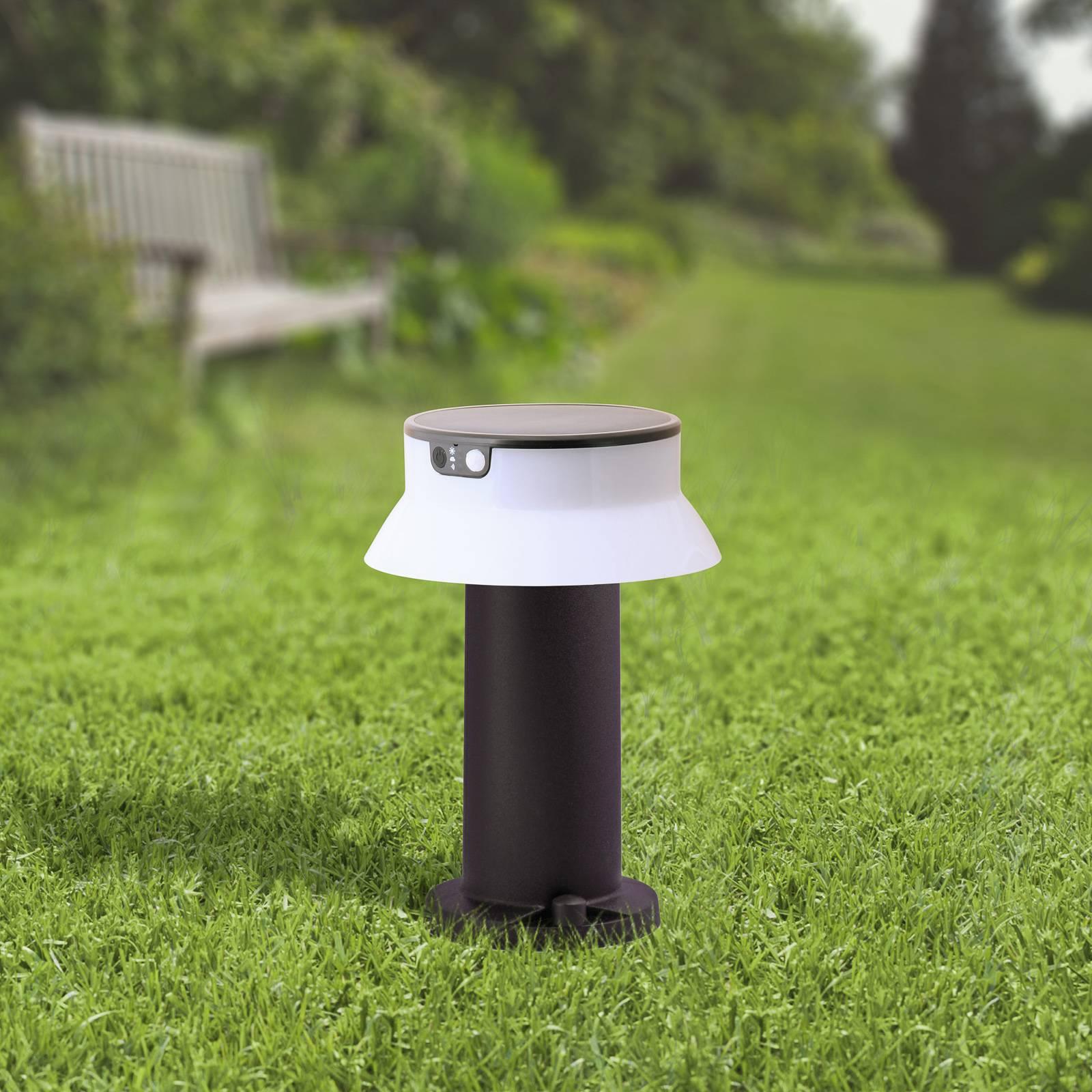 Aurinkokäyttöinen LED-valaisin Felice, CCT 33 cm