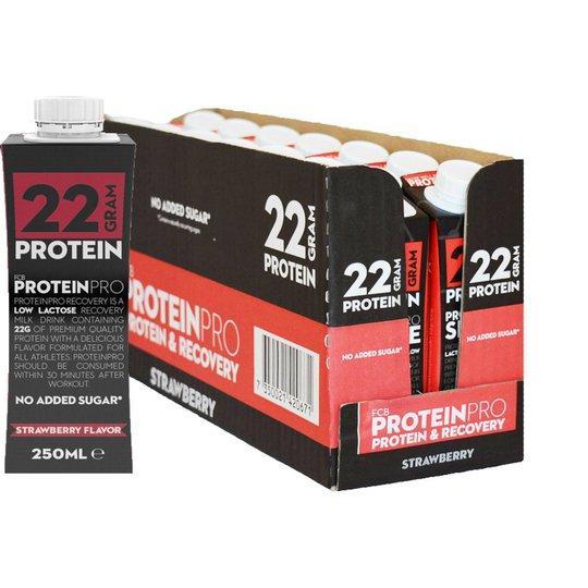 """Laatikollinen Proteiinipirtelöä """"Strawberry"""" 14 x 250 ml - 54% alennus"""