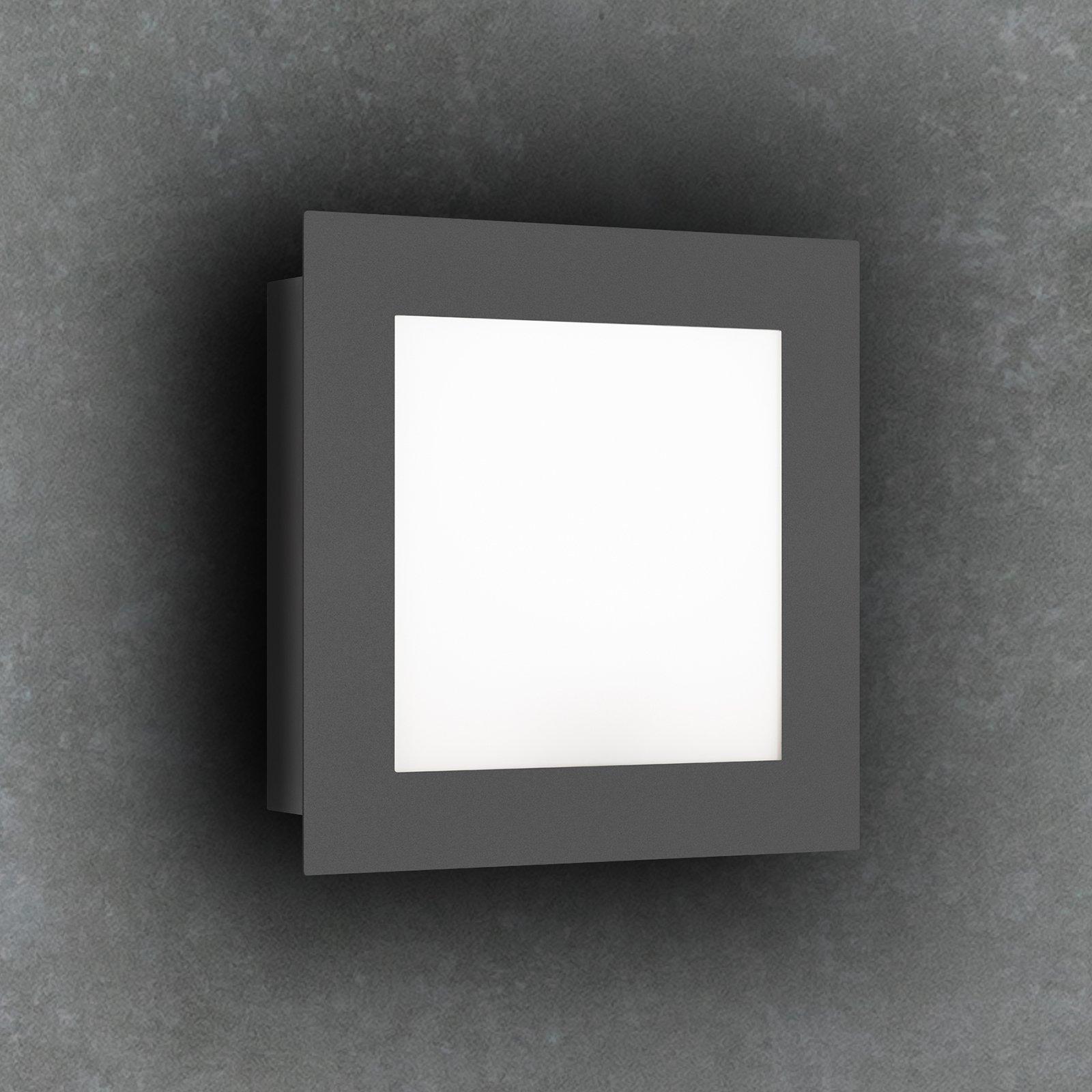 3007LED utendørs LED-vegglampe, grafitt