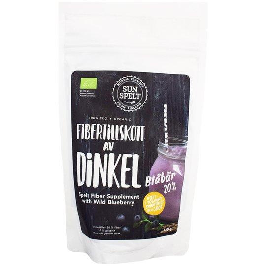 Fibertillskott Dinkel & Blåbär 160g - 71% rabatt