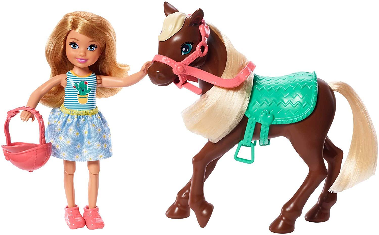 Barbie - Chelsea & Pony (Blonde) (GHV78)