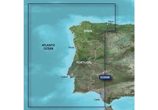 Garmin Portugal - Nordvästra Spanien Garmin microSD™/SD™ card: HXEU009R