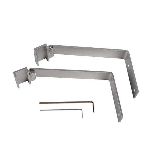 Hide-a-Lite 7506476 Kannatinvarsi alumiini, 2-pakkaus