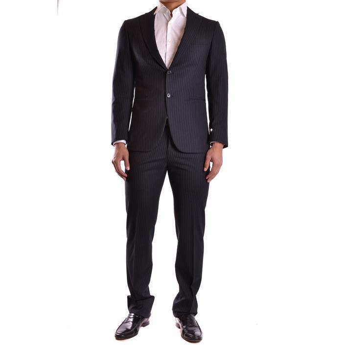 Burberry Men's Suit Black 164021 - black 48