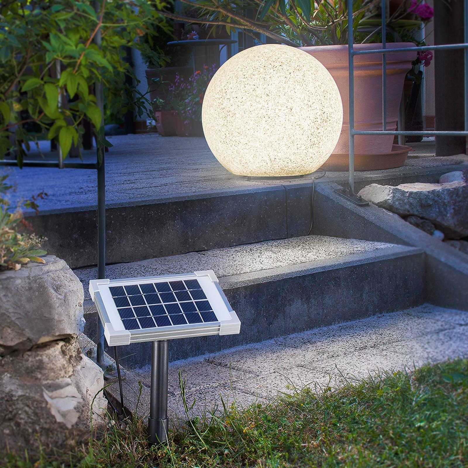 Mega Stone 40 - LED-pallovalaisin aurinkokennolla