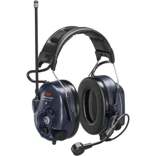3M Peltor WS LiteCom Plus Kuulosuojain päälakisanka, Bluetooth, radiopuhelin 16 kanavalla