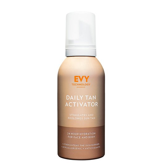 EVY Daily Tan Activator, EVY Technology Päivetys