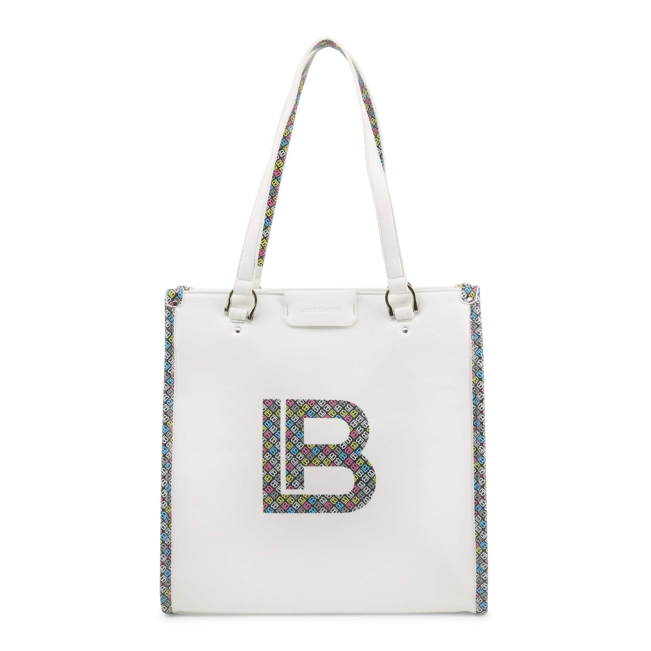 Laura Biagiotti Women's Shoulder Bag Various Colours Milla_108-1 - white NOSIZE