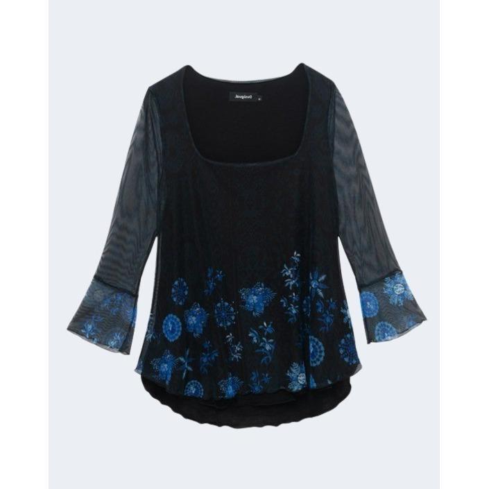Desigual Women's Top Blue 234301 - blue XS