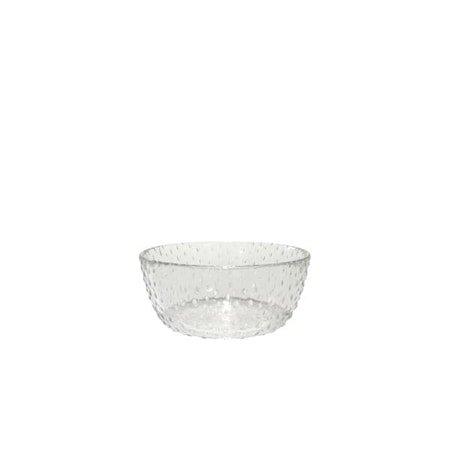 Raw Glass Klar Skål 14 cm