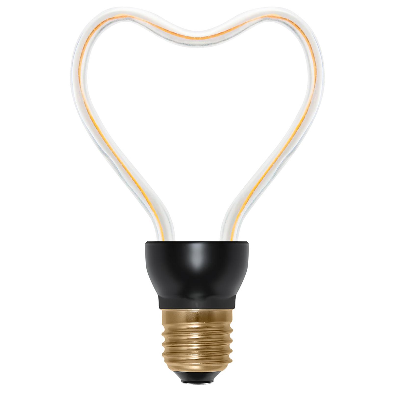 LED-lamppu Art Line Heart E27 8 W 330 lm valkoinen