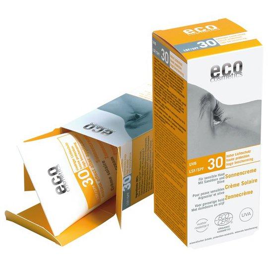 Eco Cosmetics Ekologisk Solkräm högt skydd SPF 30, 75 ml