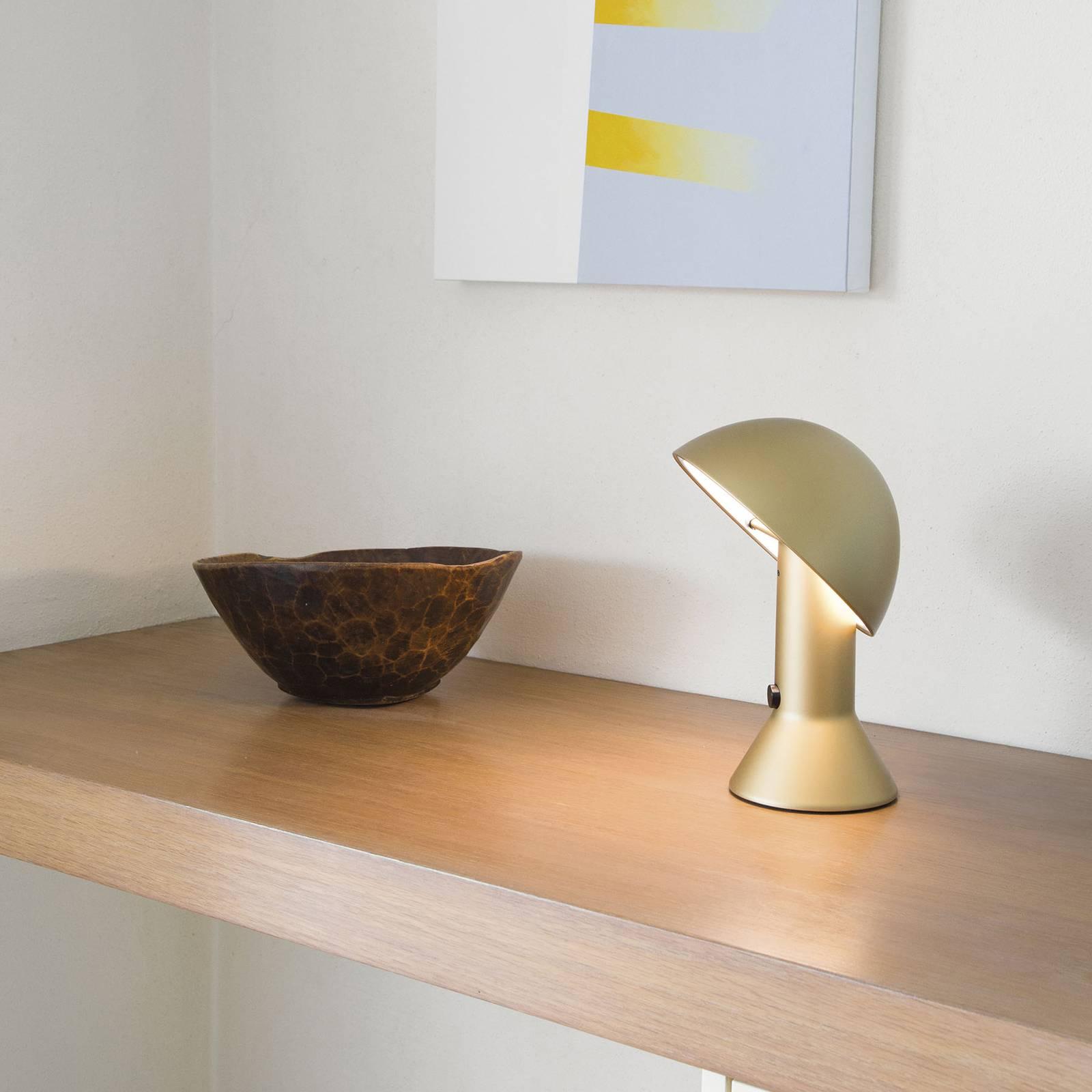 Martinelli Luce Elmetto -pöytälamppu, kulta