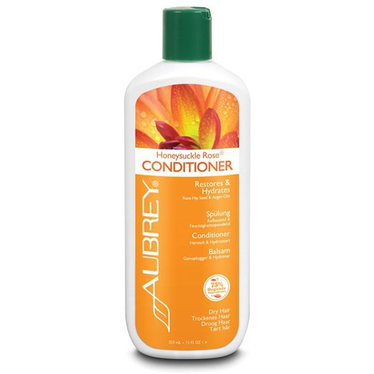 Aubrey Organics Honeysuckle Rose Conditioner, 325 ml