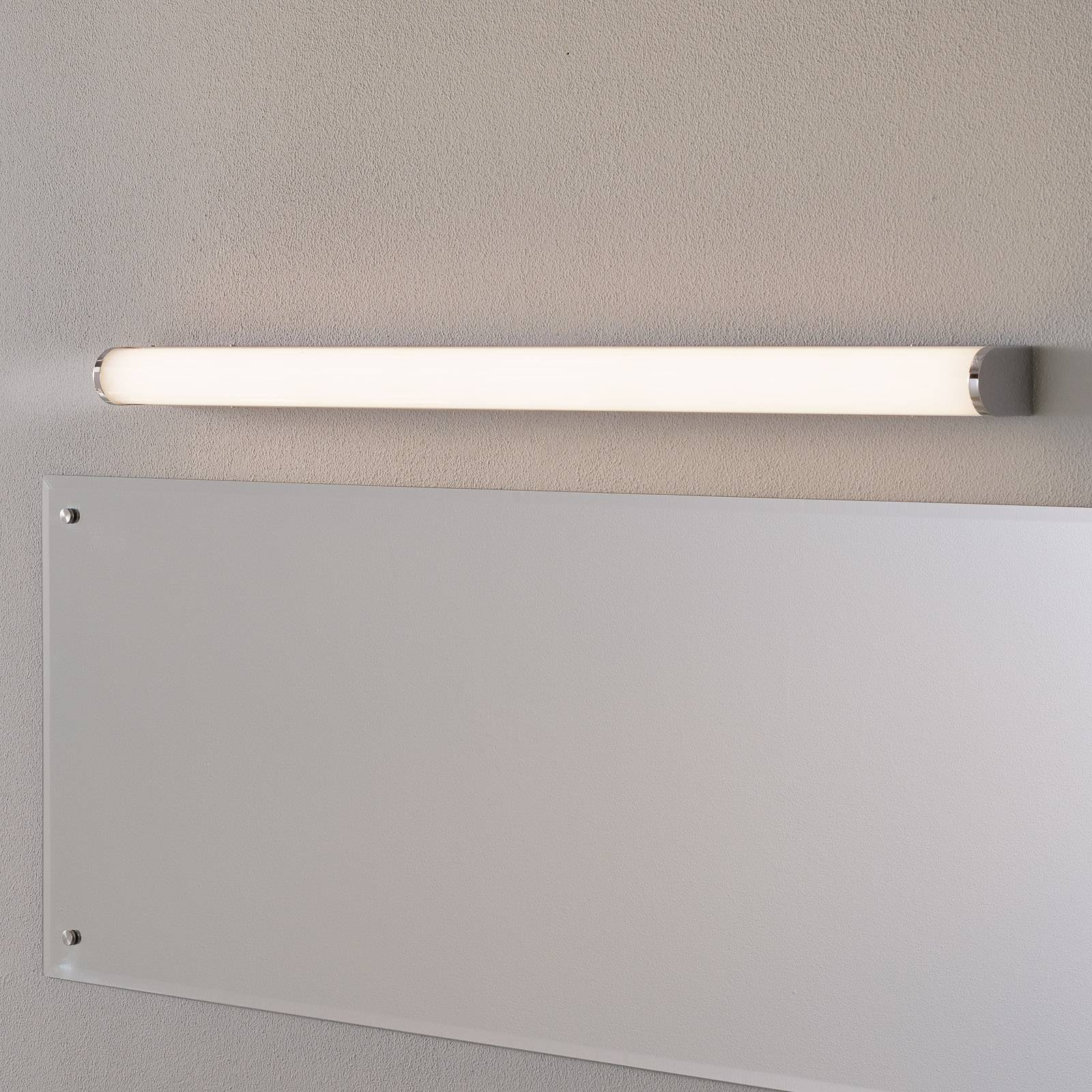 Helestra Ponto -LED-seinävalo, IP44 90 cm