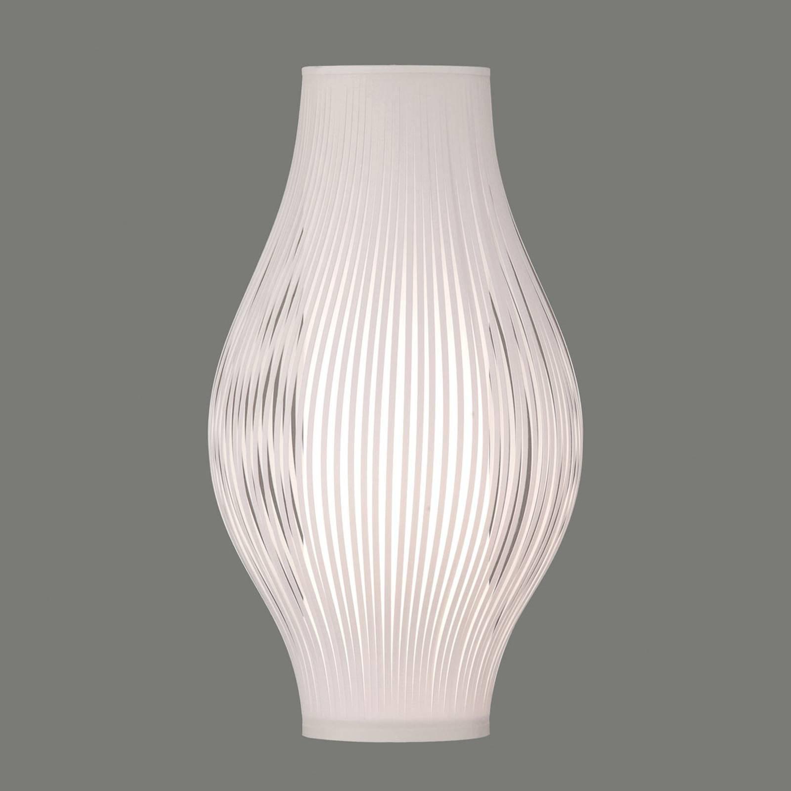 Bordlampe Murta, 51 cm, hvit