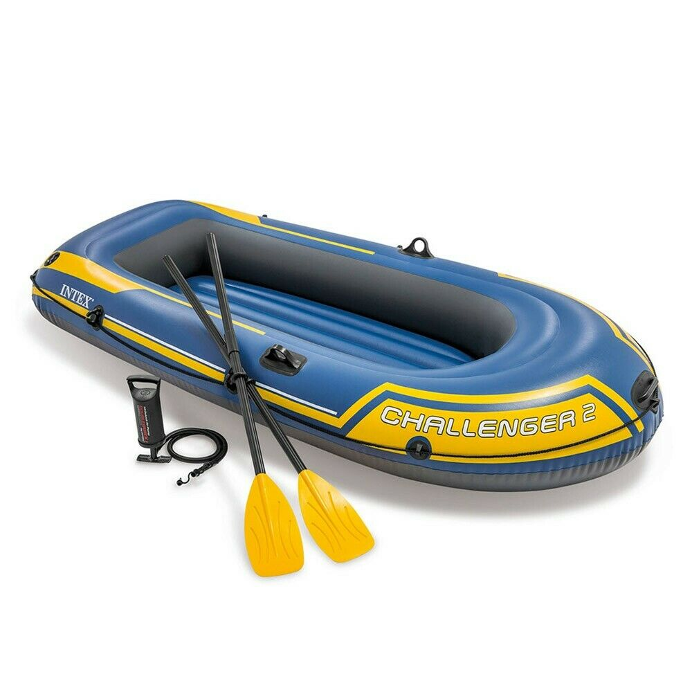 Intex - Challenger 2 Inflatable Boat for Two People (68367)