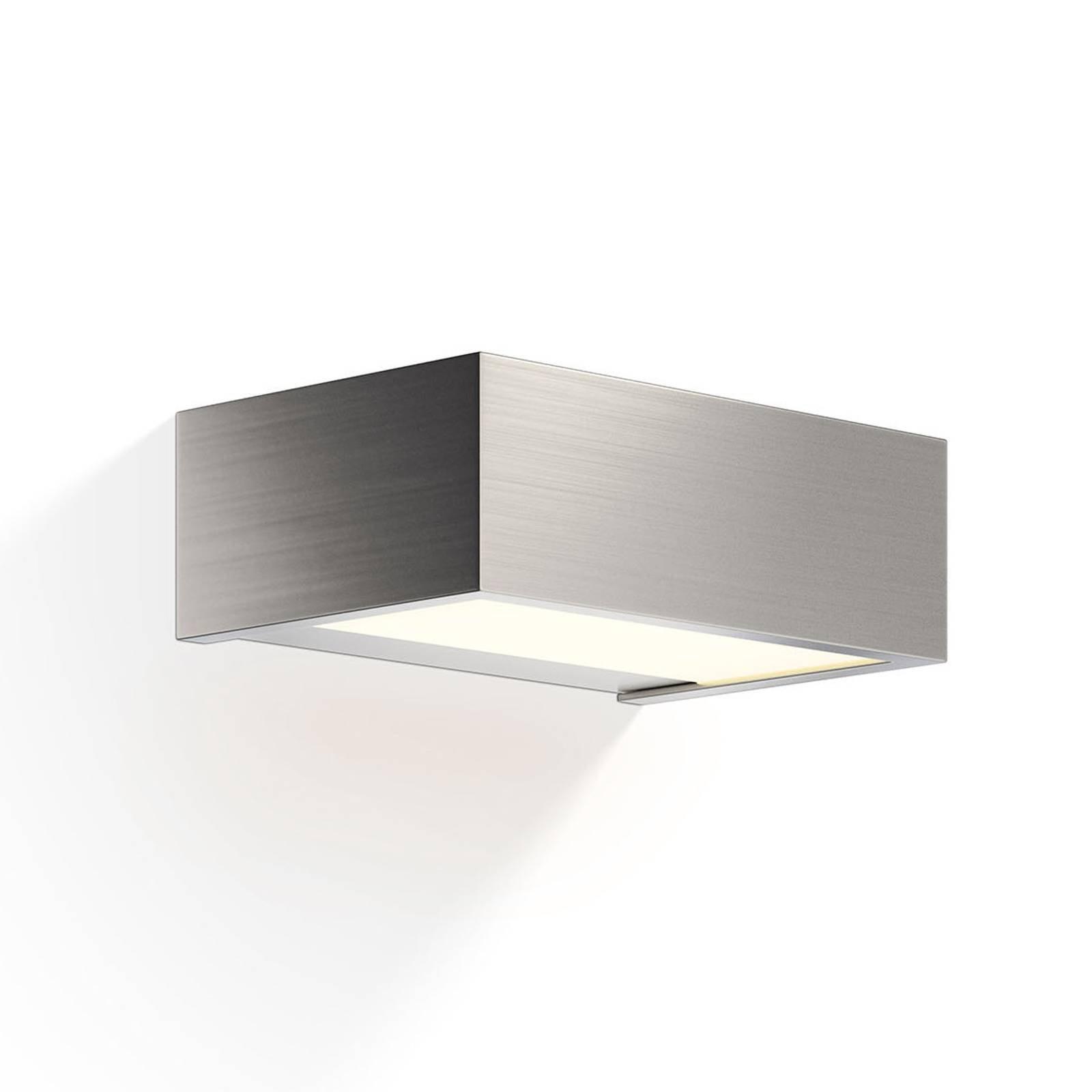 Decor Walther Box LED-vegglampe nikkel 2700 K 15cm