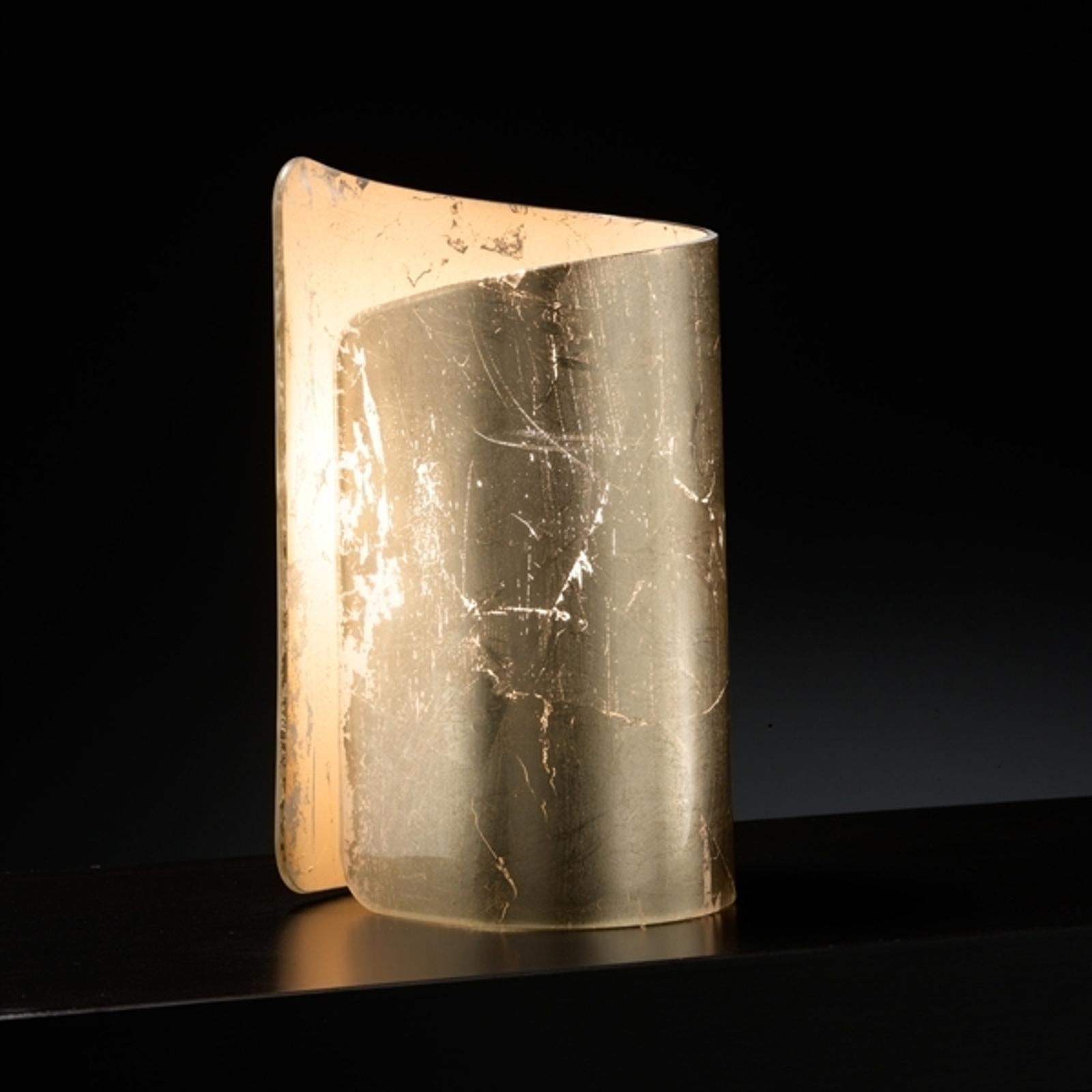Tunnelmallinen Papiro-pöytävalaisin kulta