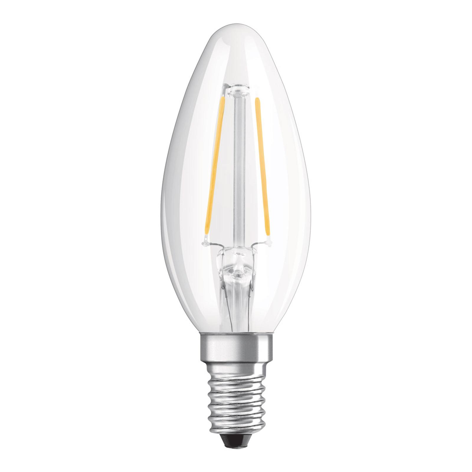 OSRAM-LED-kynttilä E14 Classic B 2,5W 4 000 K